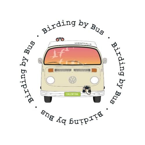 Birding by Bus logo